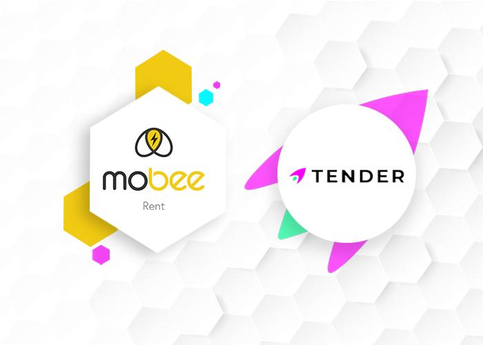Tender becomes Mobee Rent's Business Partner